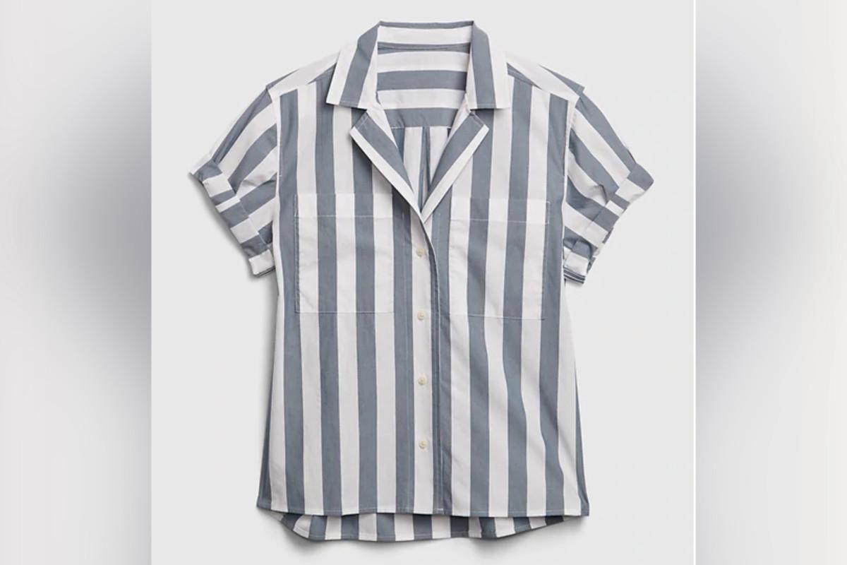 Gap drew 'camp shirt' after making comparisons with Auschwitz uniforms