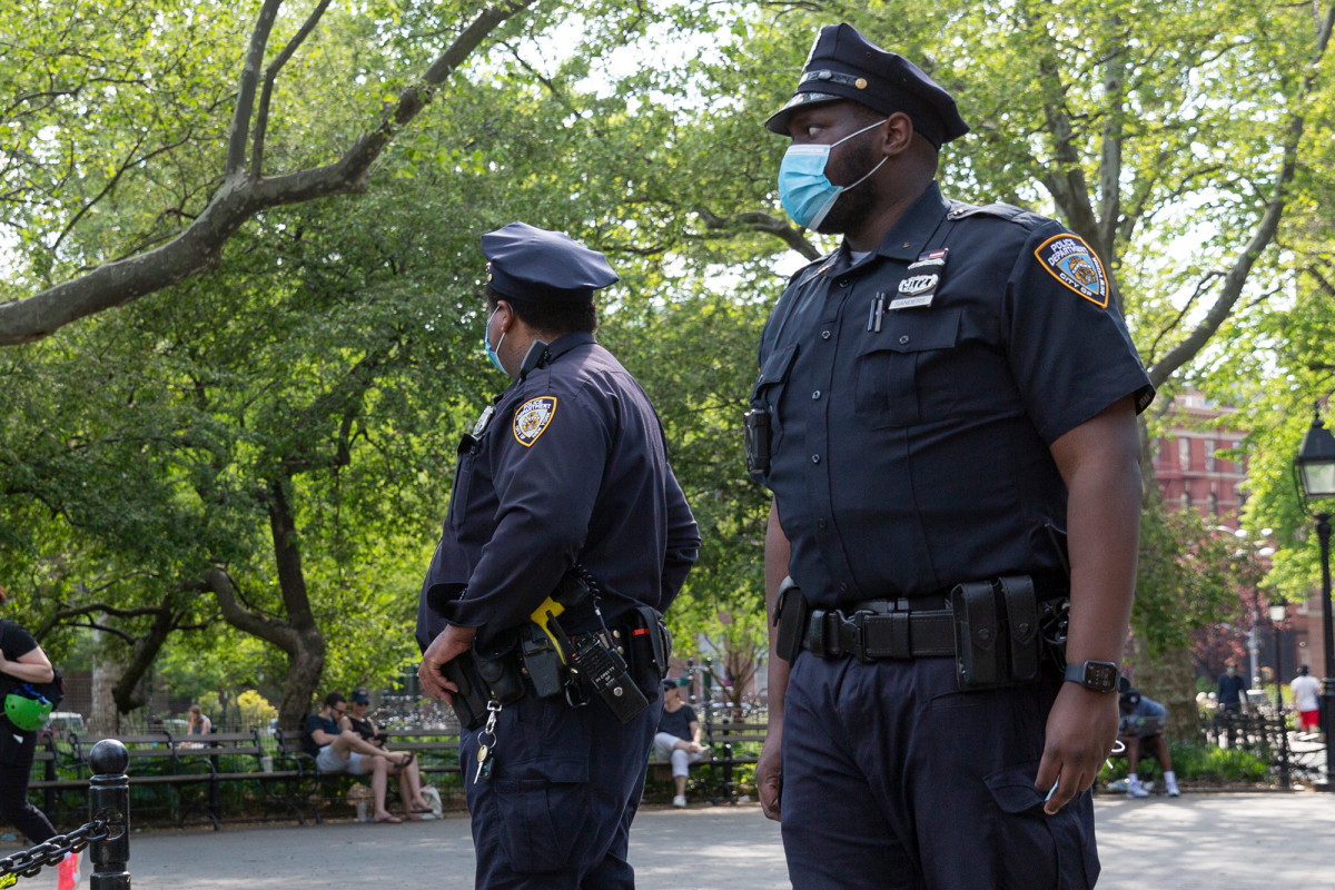 The number of sick NYPD officers has dropped to pre-pandemic levels