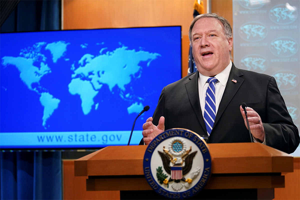 Pompeo fired State Department inspector general Steve Linick