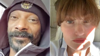 Photo of Snoop Dogg uses 'Frozen' to encourage people to 'let go' – and Idina Menzel responds