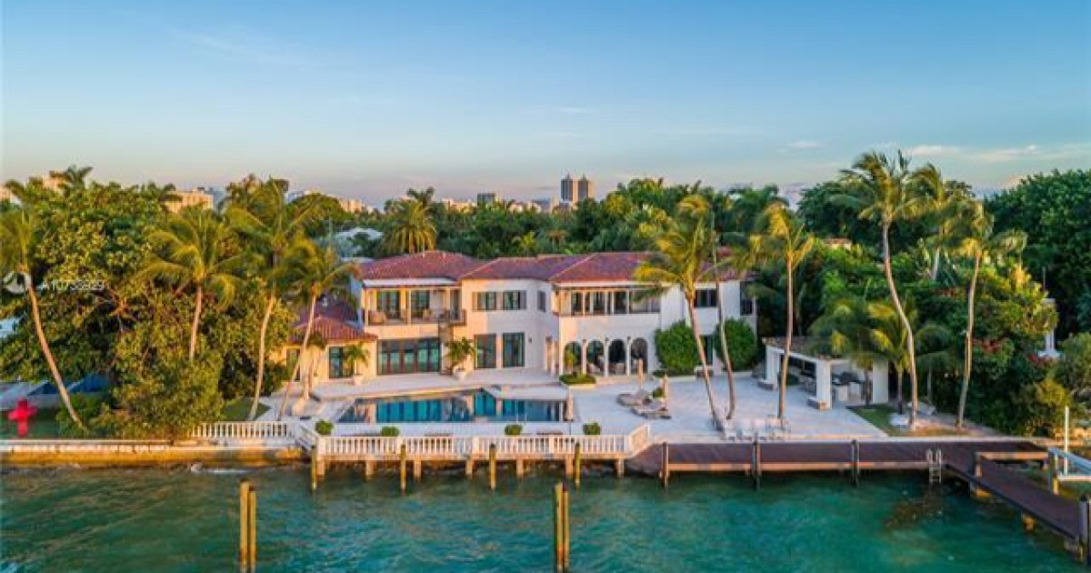 Dwyane Wade cut $ 2.5 million from his home in Miami Beach