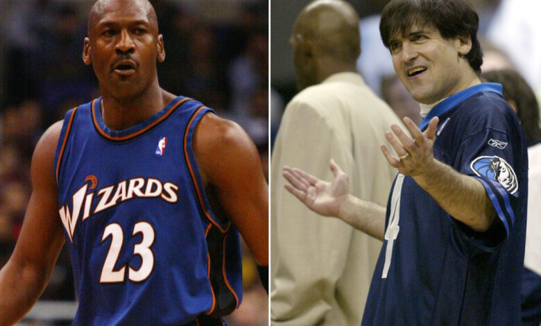 Mark Cuban tried to recruit Michael Jordan to Mavericks when they first met