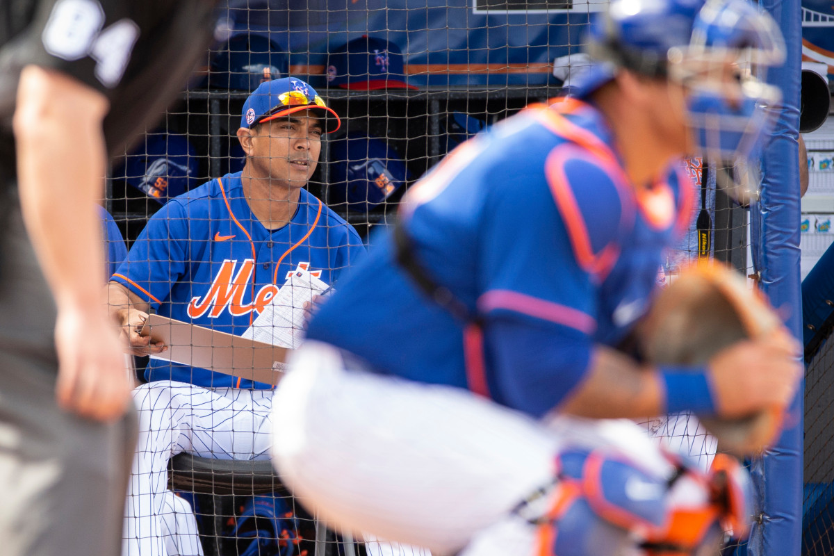 Former Mets manager Terry Collins cannot say enough about Luis Rojas