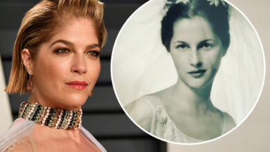 Photo of Selma Blair's mother, Molly Cooke, died at the age of 82