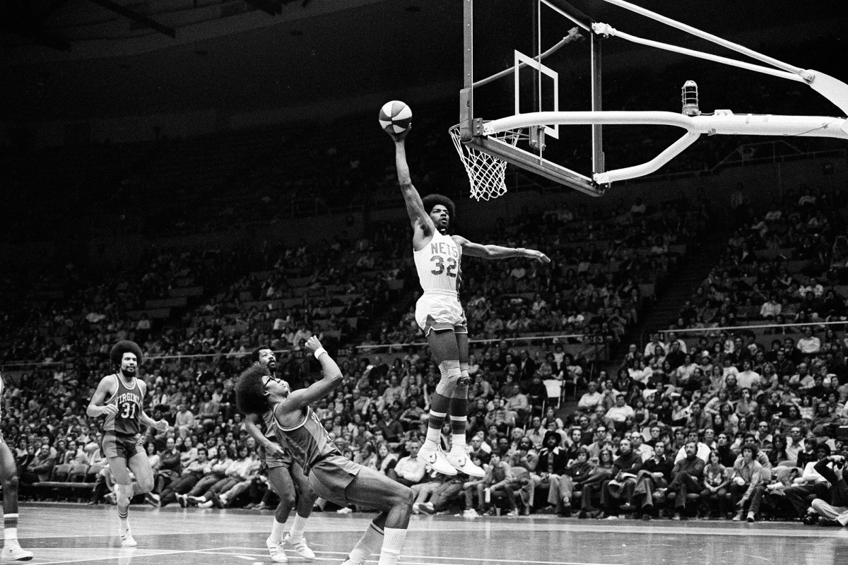 Julius Erving is only the Net to secure the goalscorer title