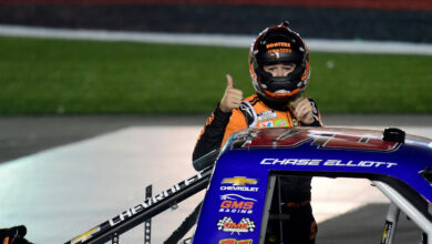Photo of Chase Elliott ended Kyle Busch's NASCAR Truck Series