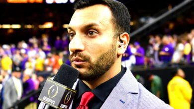 Photo of Adam Amin expressed his sincere farewell to former ESPN colleague