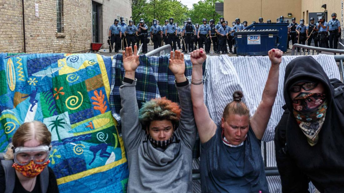 Minneapolis protested the death of George Floyd