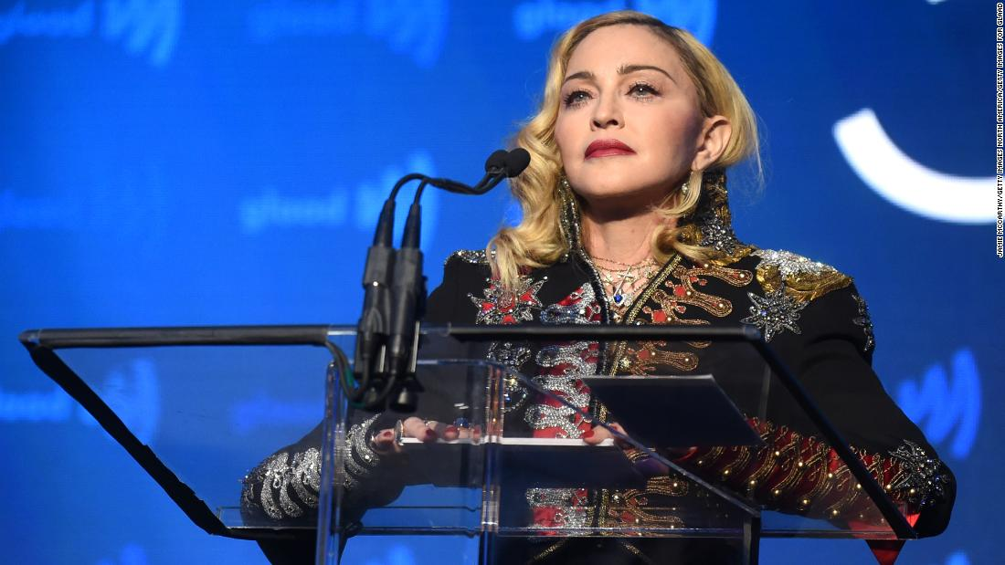 Madonna posted a video award for George Floyd, and it didn't go down well