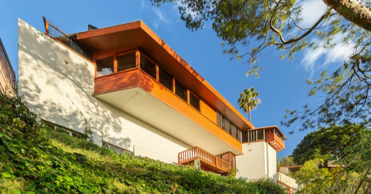 Hot Property: John Lautner's private residence sells at Silver Lake