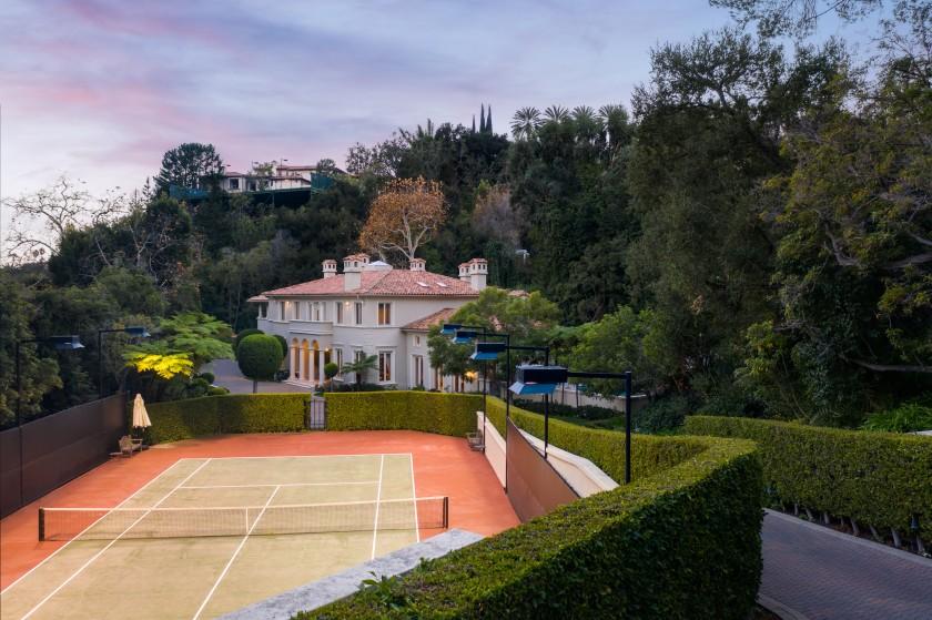 Lee Iacocca's Bel-Air Estate