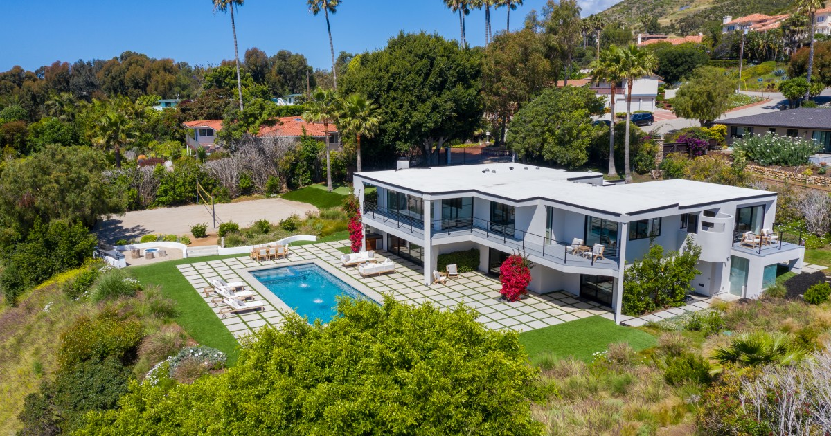 Hot Property: The surface of Robert Conrad's house in Malibu is for sale