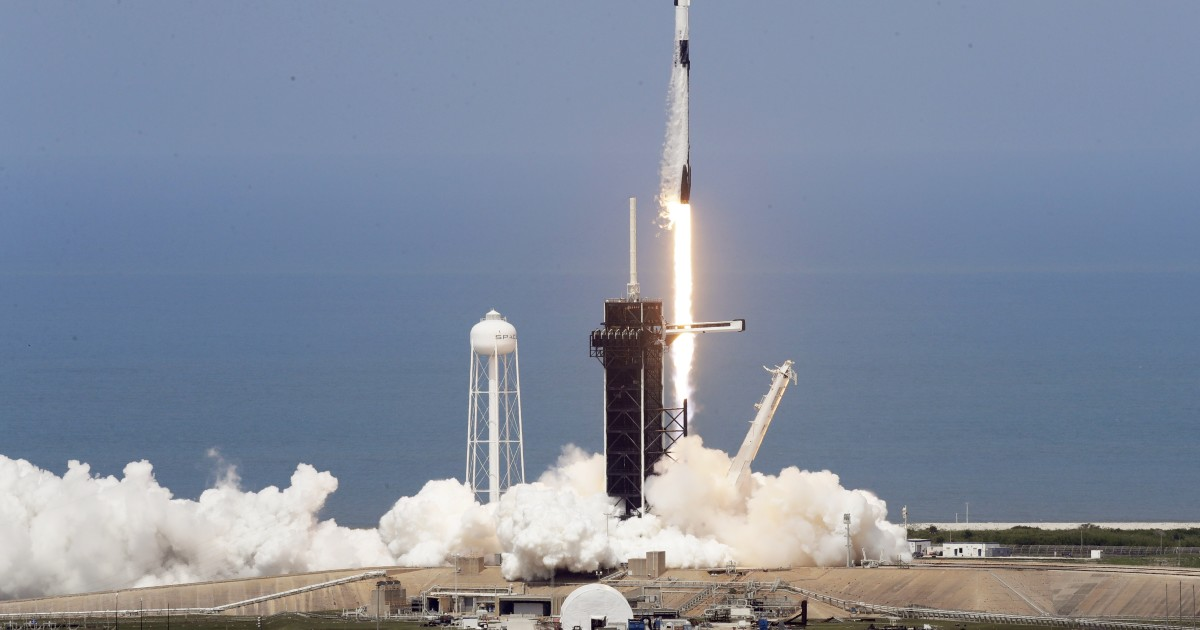 SpaceX launches the first astronaut on a joint mission with NASA