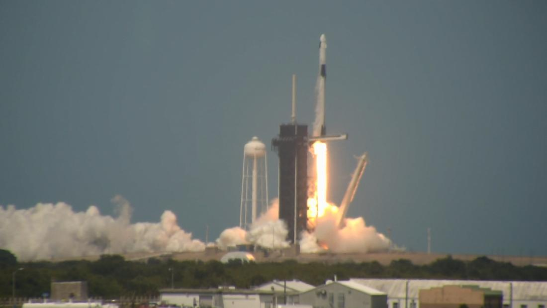 NASA, SpaceX launches astronauts from the US for the first time in a decade