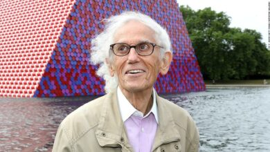 Photo of The artist Christo died at the age of 84