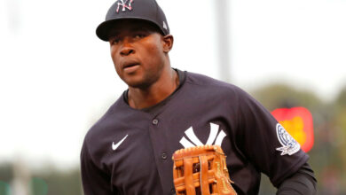 Photo of Estevan Florial 'picking brains' of Yankees stars during pandemic
