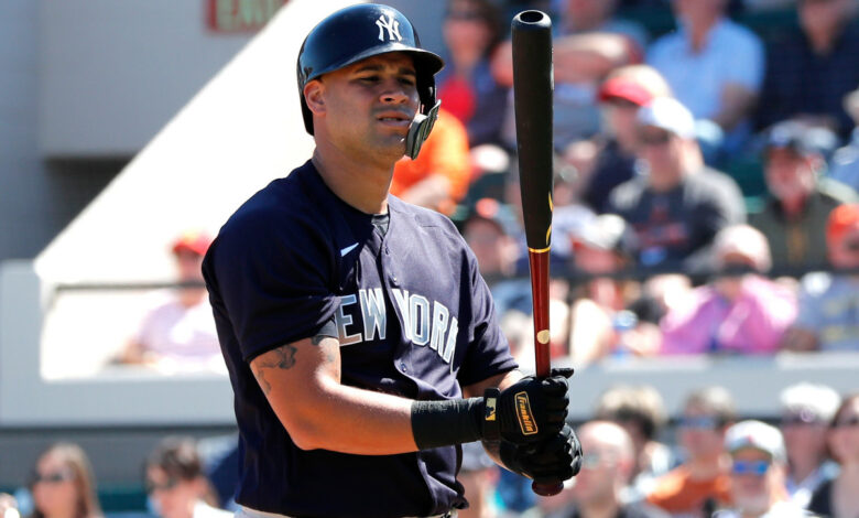 Examine why Gary Sanchez is a polarized Yankee