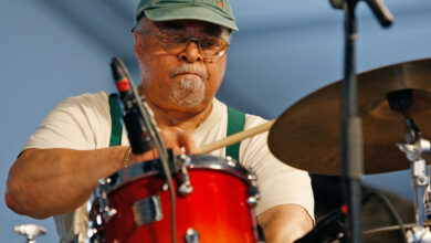 """Photo of Jimmy Cobb, drummer for Miles Davis's """"Kind of Blue,"""" died at the age of 91"""