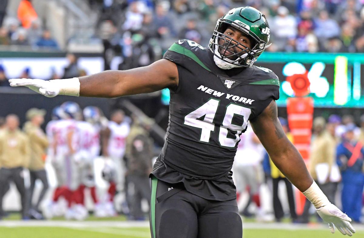 Jordan Jenkins is back, but edge rusher is still the Jets' weak point