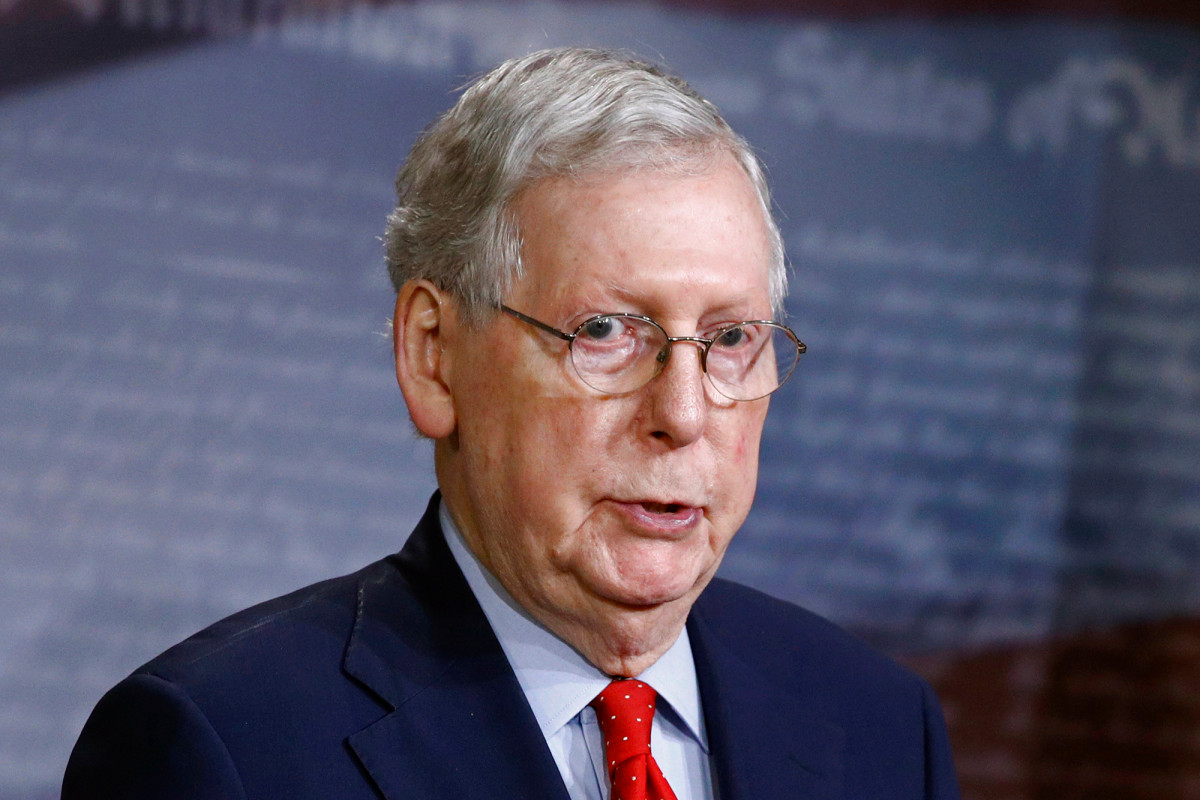 McConnell said the next stimulus must have responsibility for protection