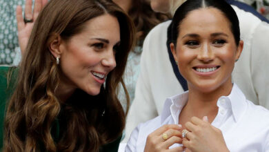 Photo of Meghan Markle's royal marriage dispute with Kate Middleton is about tight pants