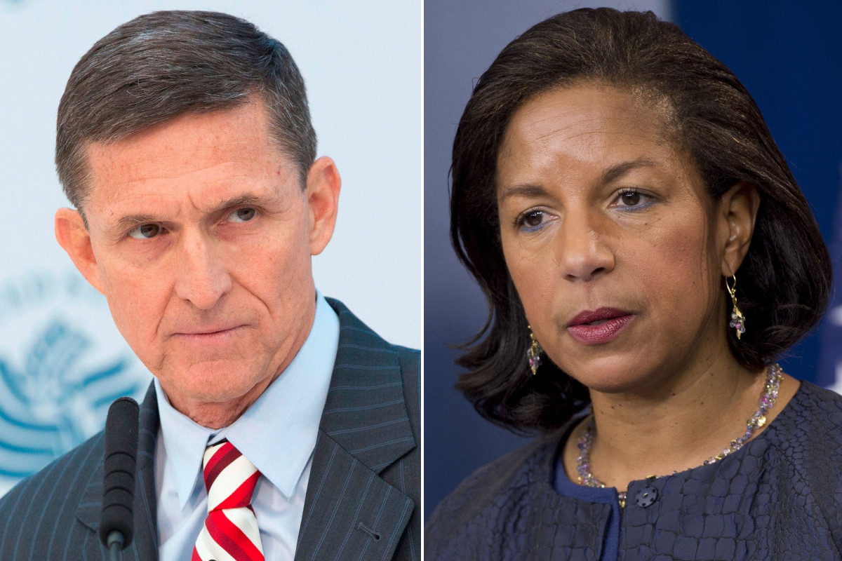 Susan Rice's email shows Comey debating cutting information from Flynn