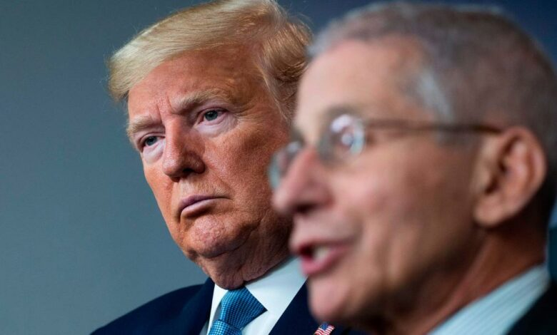 Dr. Fauci says Trump will no longer even go to coronavirus meetings