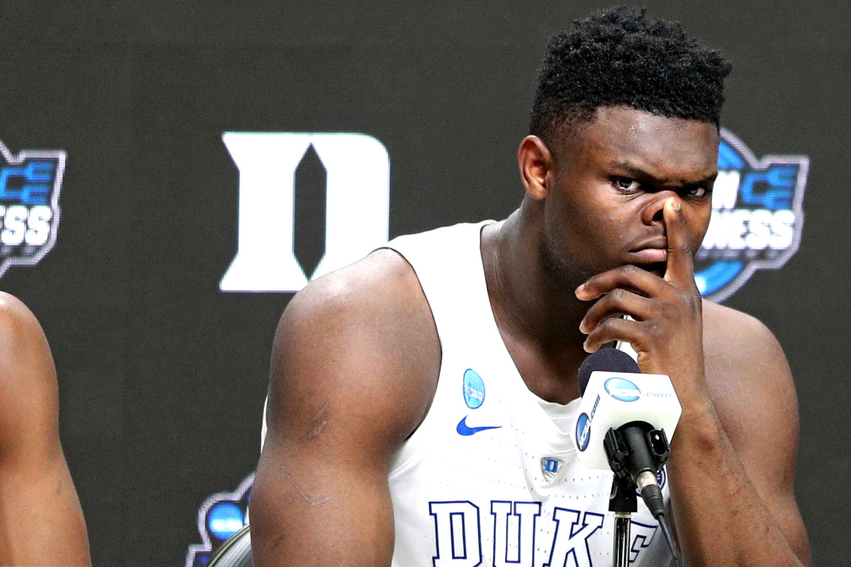 Zion Williamson must answer questions about Duke's improper benefits