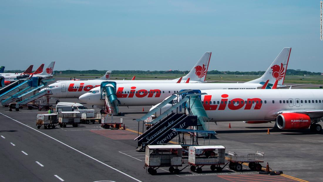 Lion Air Indonesia restarted the flight, canceling it again
