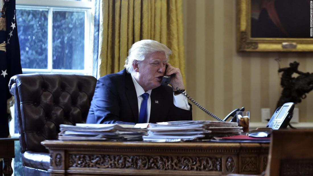 From being a pandering to Putin to abusing allies and ignoring his own advisers, Trump's telephone calls alarmed US officials