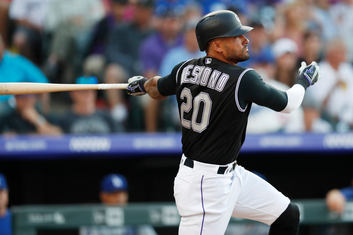 Ian Desmond of the Rockies opted out of the 2020 MLB season