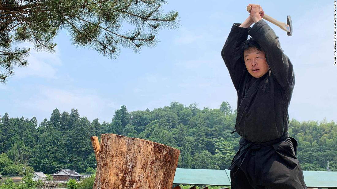 Meet Japanese men who hold the only world title in ninja studies