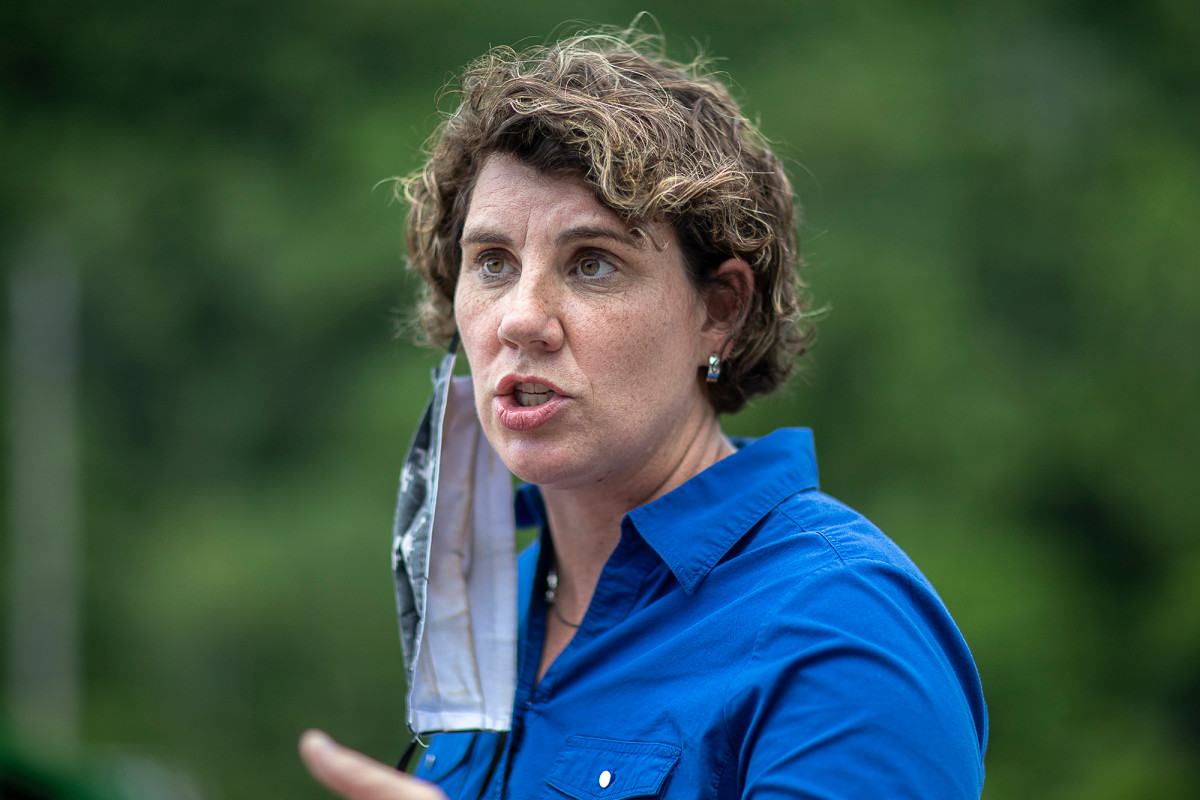 Amy McGrath defeated Charles Booker in Kentucky primary