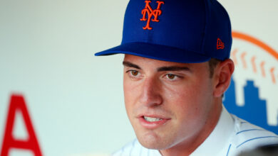 Photo of The Mets hope the prospect of Matthew Allan can be their next ace
