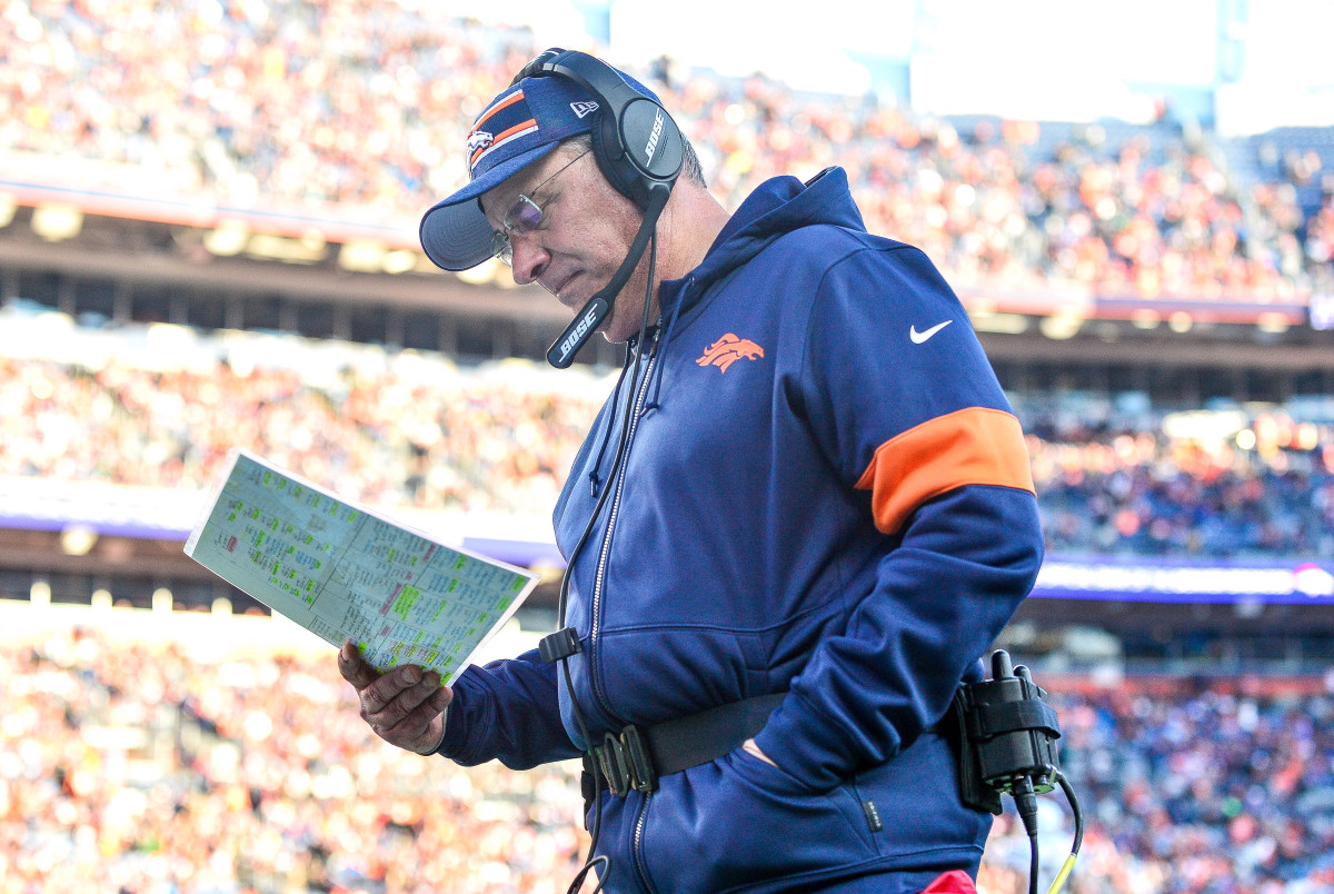 Vic Fangio of Broncos apologized for saying he did not see racism in the NFL