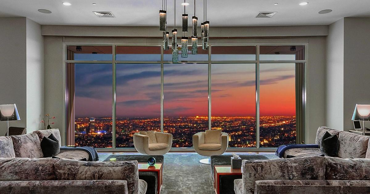 Hot Property: Matthew Perry rearranges the LA penthouse for $ 27 million