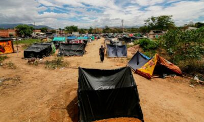 Covid-19 forced Venezuelans to head home. But crossing the border isn't easy