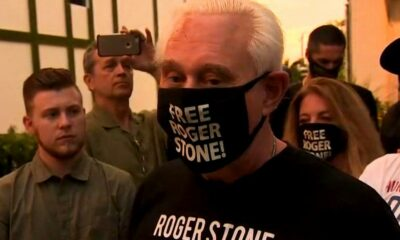 Justice Department releases Roger Stone's commutation paperwork