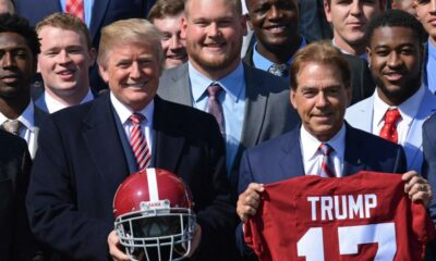 Lou Saban: Trump repeatedly calls famed Alabama football coach Nick Saban by the wrong name