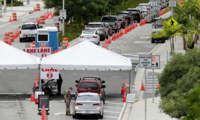 New York City reports no deaths; Florida sets daily record