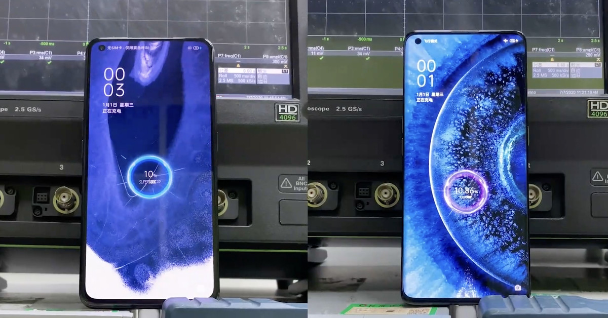 Oppo announces 125W tech that charges phones in 20 minutes