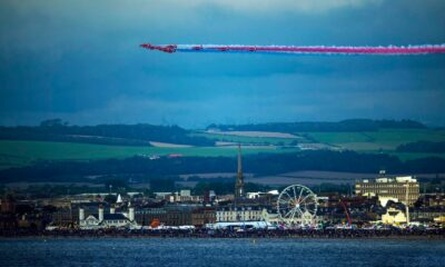 Red Arrows set to soar over Scotland to mark 75th anniversary of VJ Day