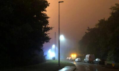 North Bretton fire: Dramatic pictures show 'severe fire' as over 80 people evacuated from homes