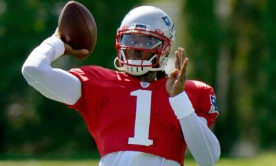 Despite reps, Cam Newton 'absolutely' doesn't feel like Patriots' starting QB