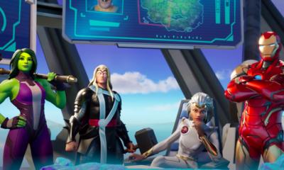 Fortnite Chapter 2: Season 4 pits Marvel's biggest heroes against Galactus