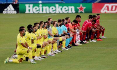 Poor weather delays FC Dallas-Nashville match pregame anthem cancelled