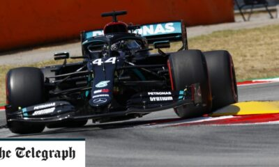 Lewis Hamilton eyes pole in sunny Barcelona