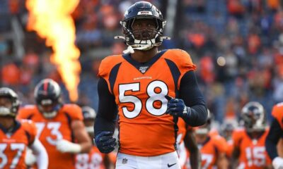Von Miller's injury: Broncos star is expected to require ankle surgery at the end of the season, according to report