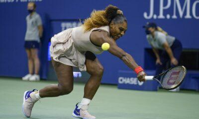 Serena Williams lost to Azarenka in the semifinals