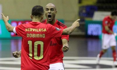 BOLA - Benfica beat Braga to reach the playoff semi-finals (futsal)